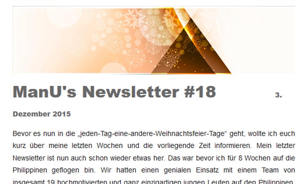 ManU's Newsletter #18
