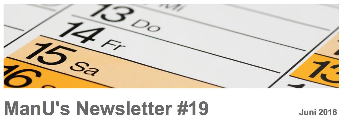 ManU's Newsletter #19