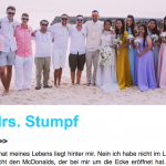 Newsletter Mr. & Mrs. Stumpf