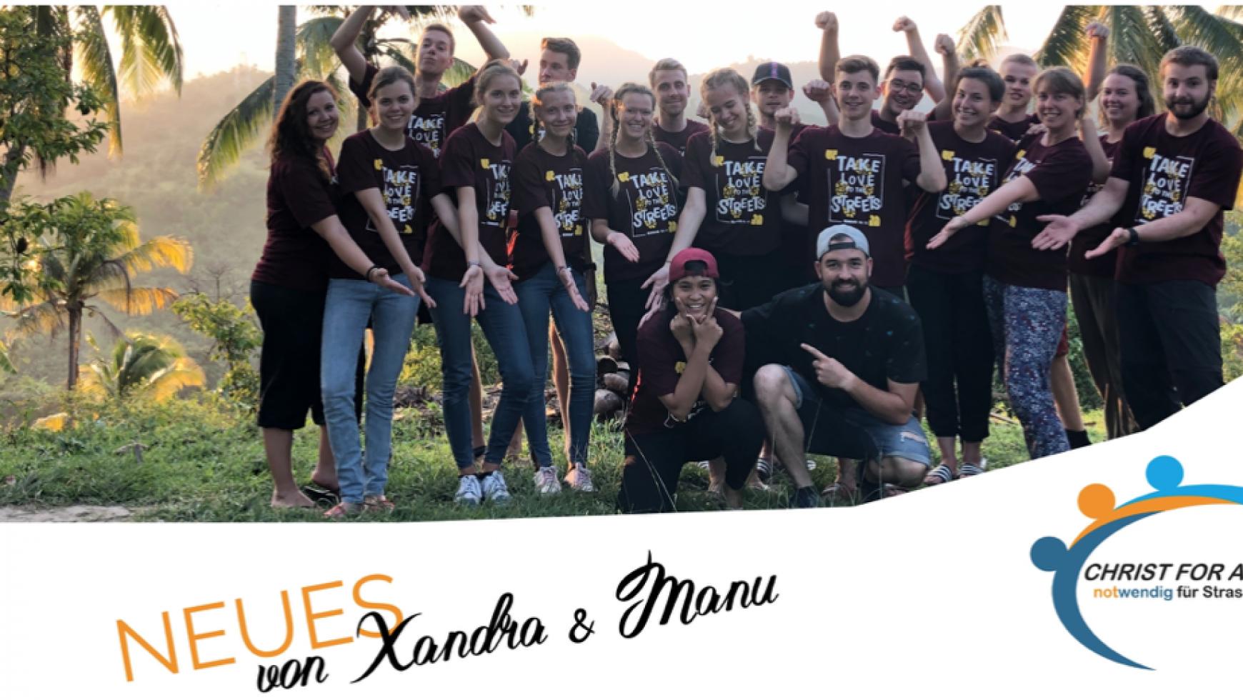 Neues von Xandra & Manu aus Cebu | September 2019